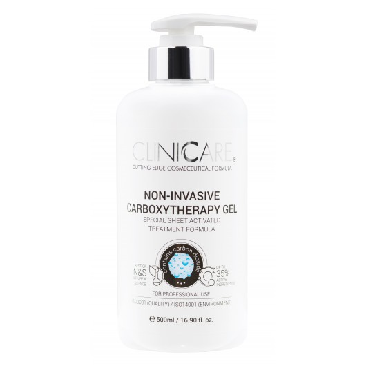 CLINICCARE. NON-INVASIVE CARBOXYTHERAPY GEL 500ml